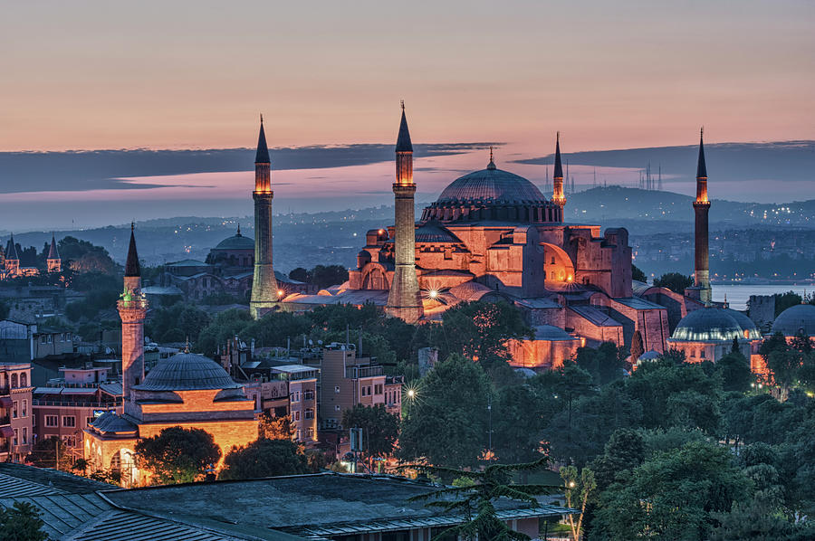 Hagia Sophia, Istanbul Photograph by Gabrielle Therin-weise