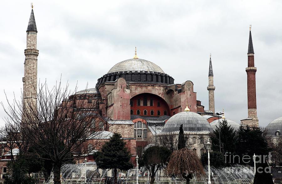 Hagia Sophia Photograph - Hagia Sophia by John Rizzuto
