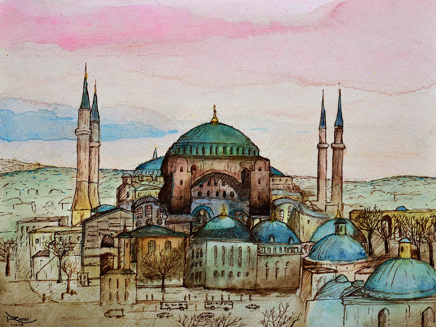 Hagia Sophia by Rafay Zafer
