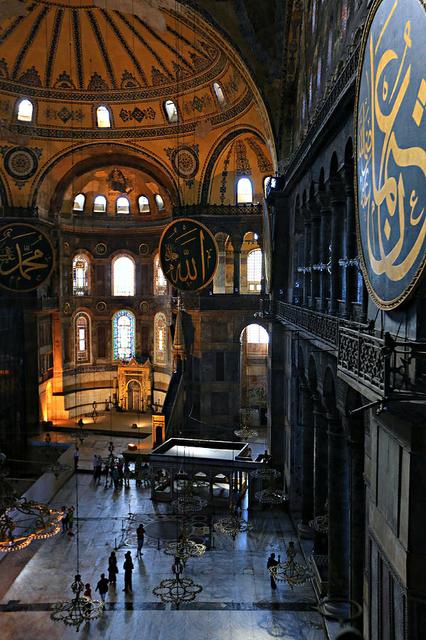 Ancient Photograph - Hagia Sophia by Stephen Stookey