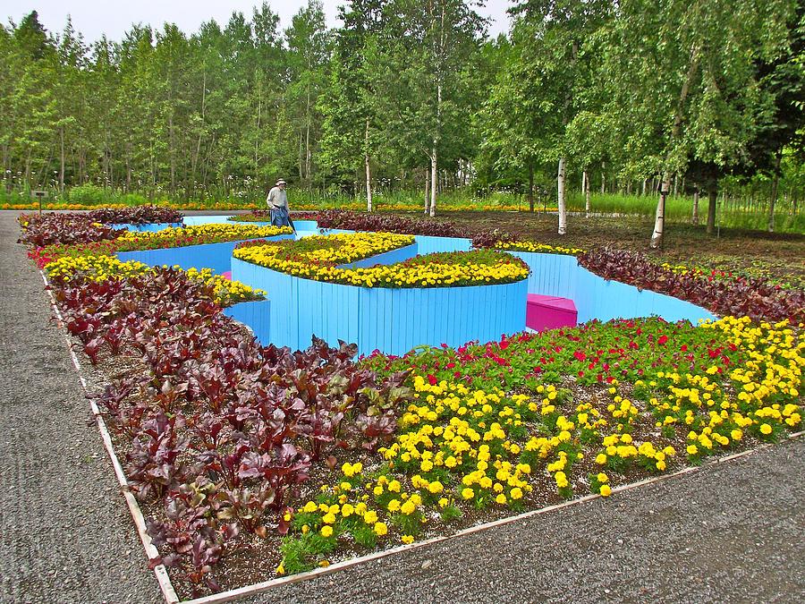Haha in les jardins de metis reford gardens near grand for Jardin de metis 2016
