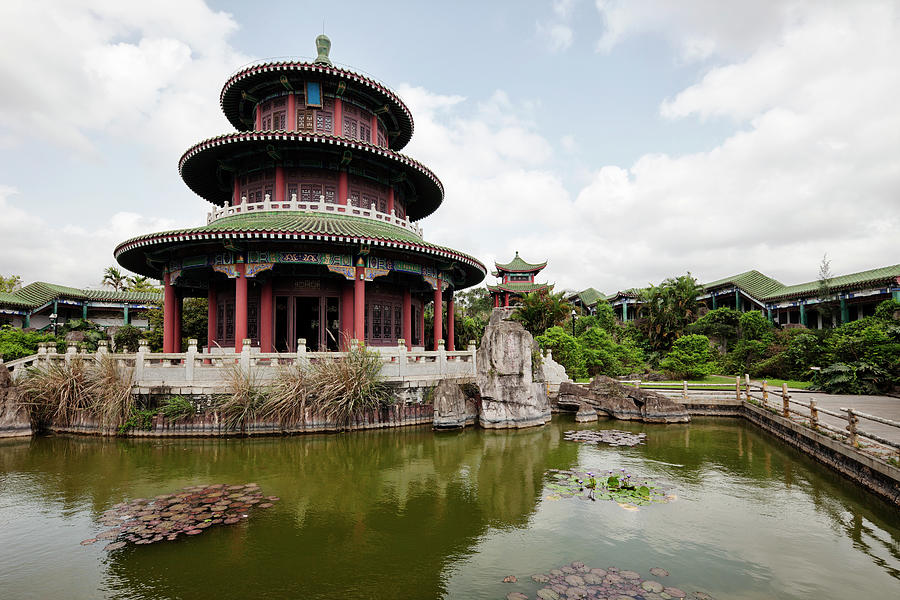 Hai Rui Tomb, Haikou, China Photograph by Tunart