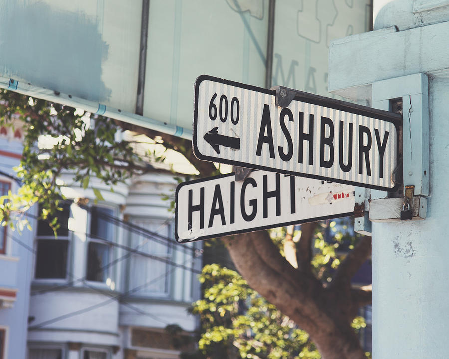 Haight Ashbury Photograph - Haight Ashbury by Nastasia Cook