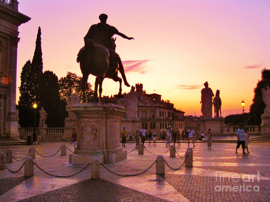 Rome Photograph - Hail To All The Little Tourists by John Malone
