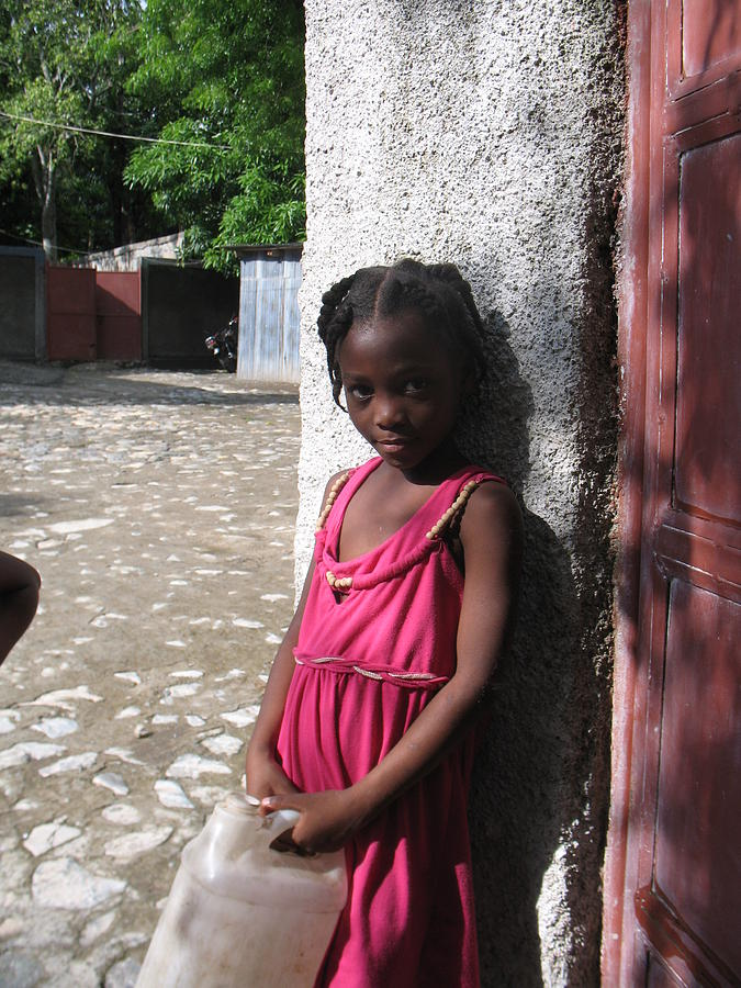 Haiti Photograph - Haitian Princess Five by Bob Snyder