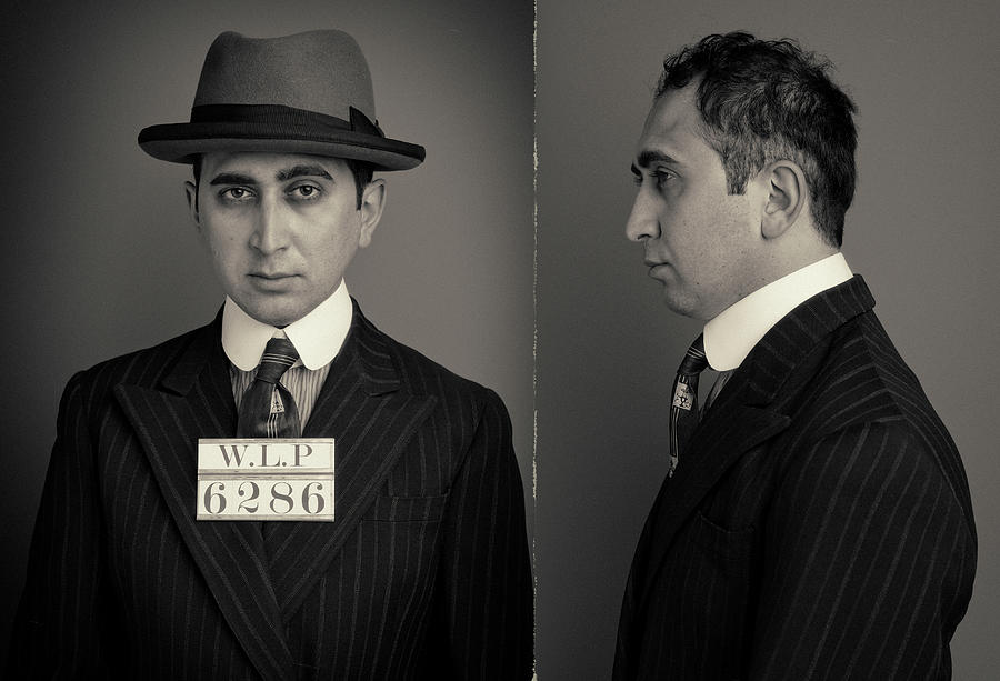 Hakan The Boss Wanted Mugshot Photograph by Nick Dolding