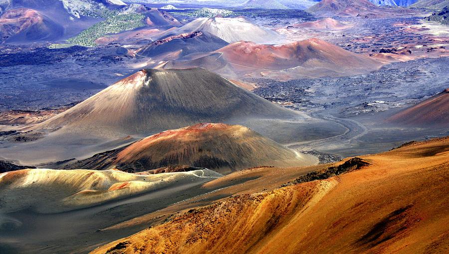 Haleakala Photograph - Haleakala by Bill Morson