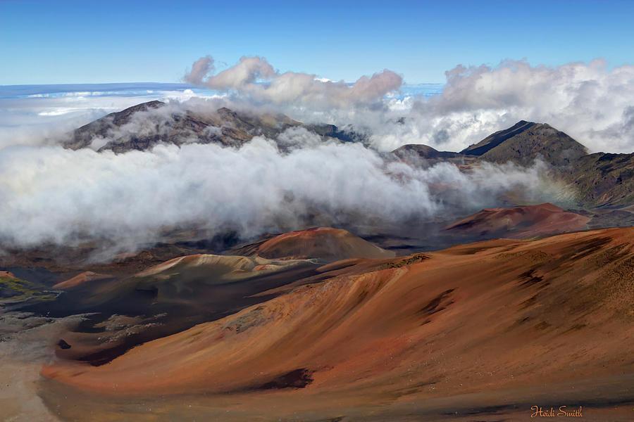 Mountain Photograph - Haleakala Meaning House Of The Sun by Heidi Smith