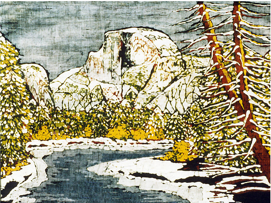 Half Dome Tapestry - Textile - Half Dome by Alexandra  Sanders