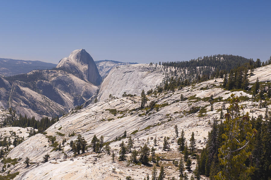 Half Dome Photograph - Half Dome and the High Sierra by Richard Berry