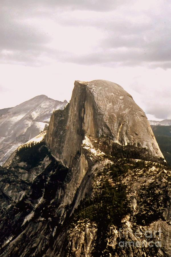 Half Photograph - Half Dome by Kathleen Struckle
