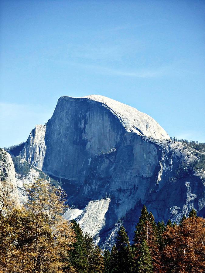 Yosemite Photograph - Half Dome by Richard Reeve
