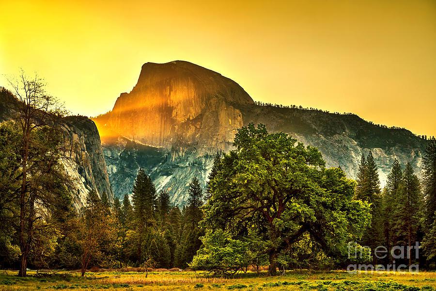 Yosemite National Park Photograph - Half Dome Sunrise by Az Jackson