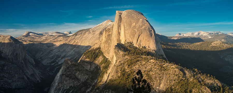 Yosemite Photograph - Half Dome Sunset by Steve Gadomski