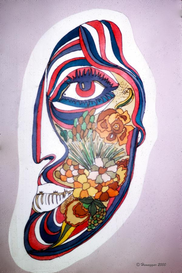 Face Painting - Half by Hemu Aggarwal