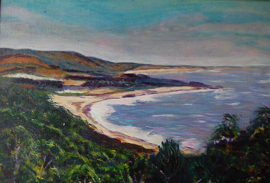 Half Moon Bay 2 by Carolyn Donnell