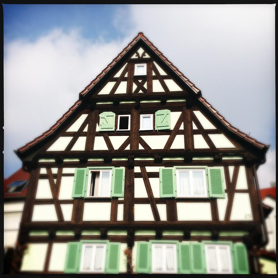 Half-timbered Photograph - Half-timbered house 01 by Matthias Hauser
