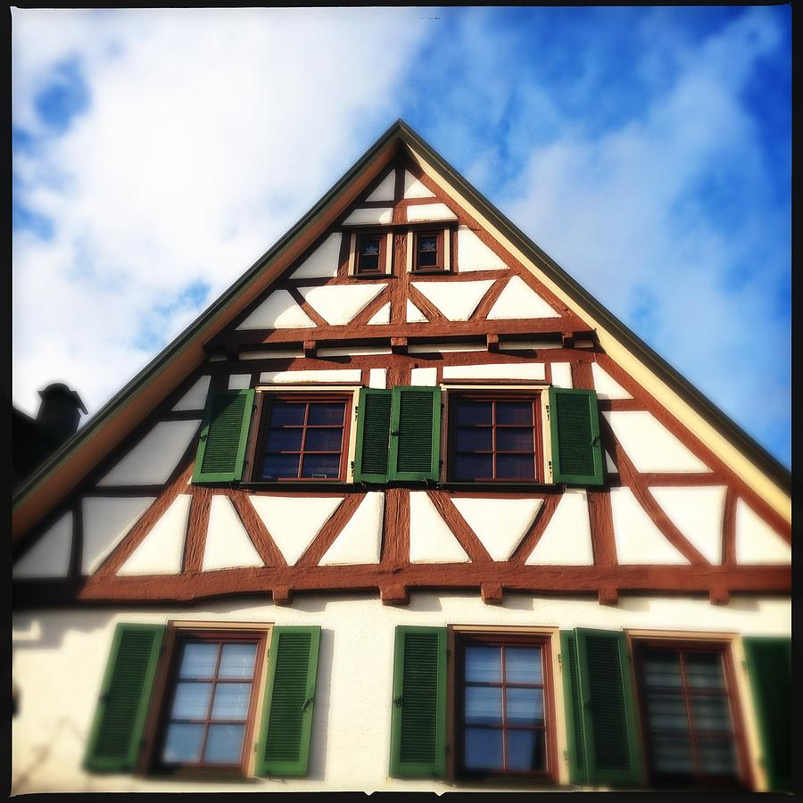 Half-timbered Photograph - Half-timbered House 02 by Matthias Hauser