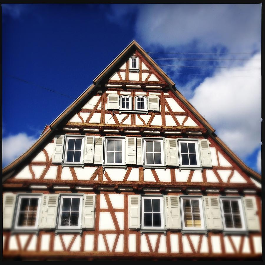 Half-timbered Photograph - Half-timbered House 03 by Matthias Hauser