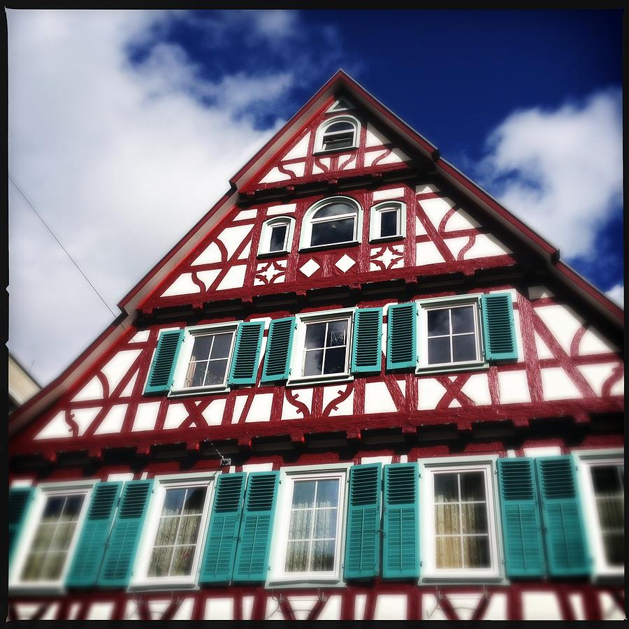 Half-timbered Photograph - Half-timbered house 04 by Matthias Hauser