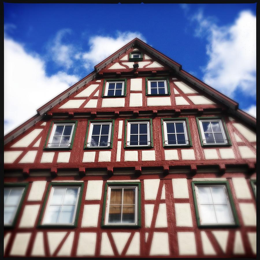 Half-timbered Photograph - Half-timbered house 05 by Matthias Hauser