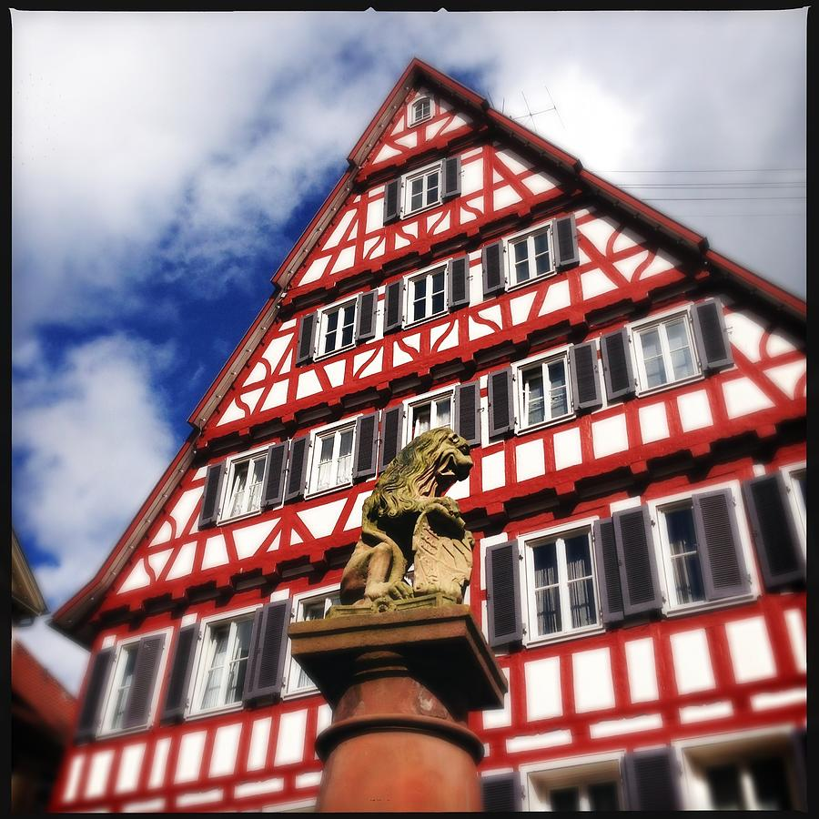 Half-timbered Photograph - Half-timbered house 07 by Matthias Hauser
