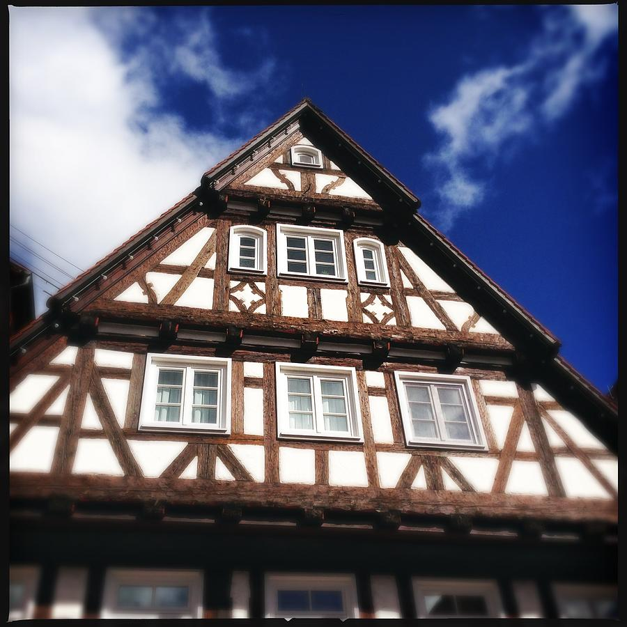 Half-timbered Photograph - Half-timbered house 08 by Matthias Hauser