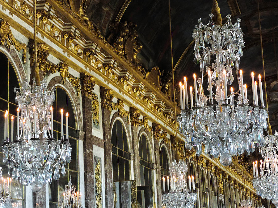 Versailles Photograph - Hall Of Mirrors by Clare Mulholland
