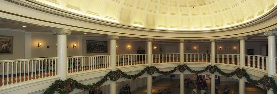 Panorama Photograph - Hall Of Presidents Walt Disney World Panorama by Thomas Woolworth
