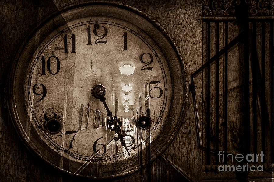 Ancient Photograph - Hall Of Time by Pam Vick