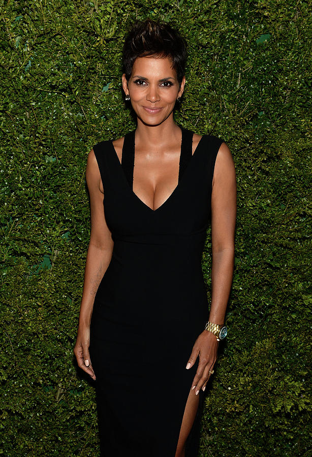 Halle Berry, Michael Kors And The Photograph by Dimitrios Kambouris