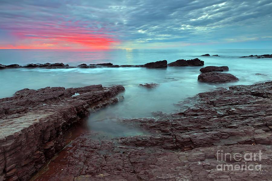 Hallett Cove Sunset Photograph by Bill  Robinson