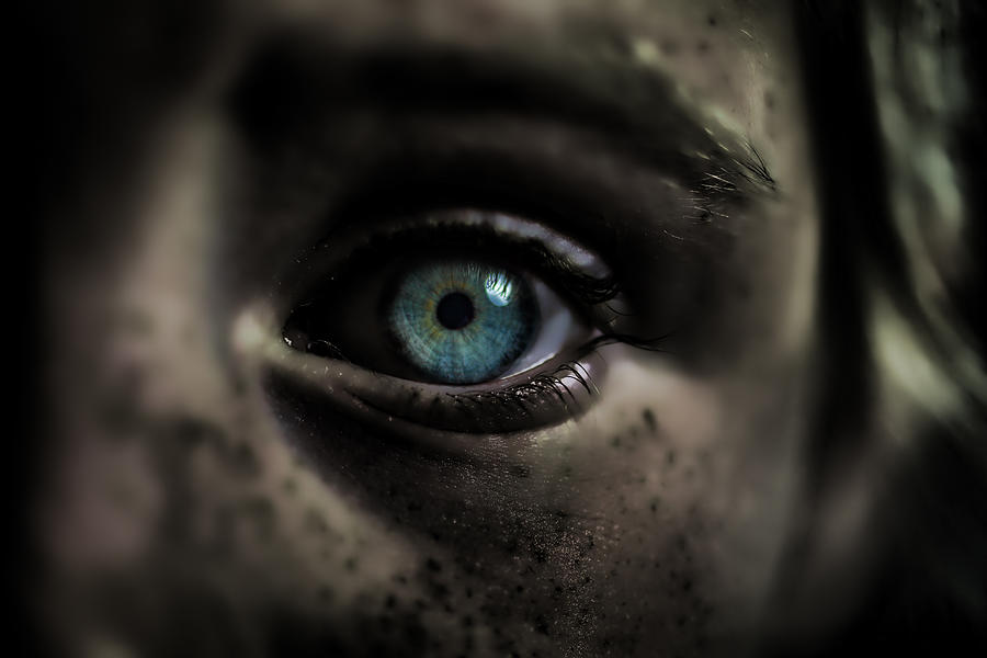 Halloween Eye Photograph by Landscapes, Seascapes, Jewellery & Action Photographer