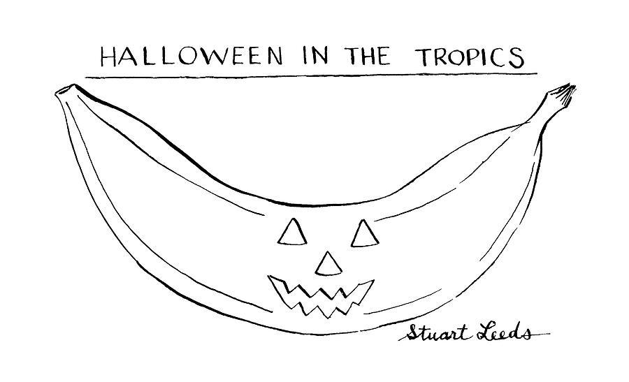 Halloween In The Tropics Drawing by Stuart Leeds