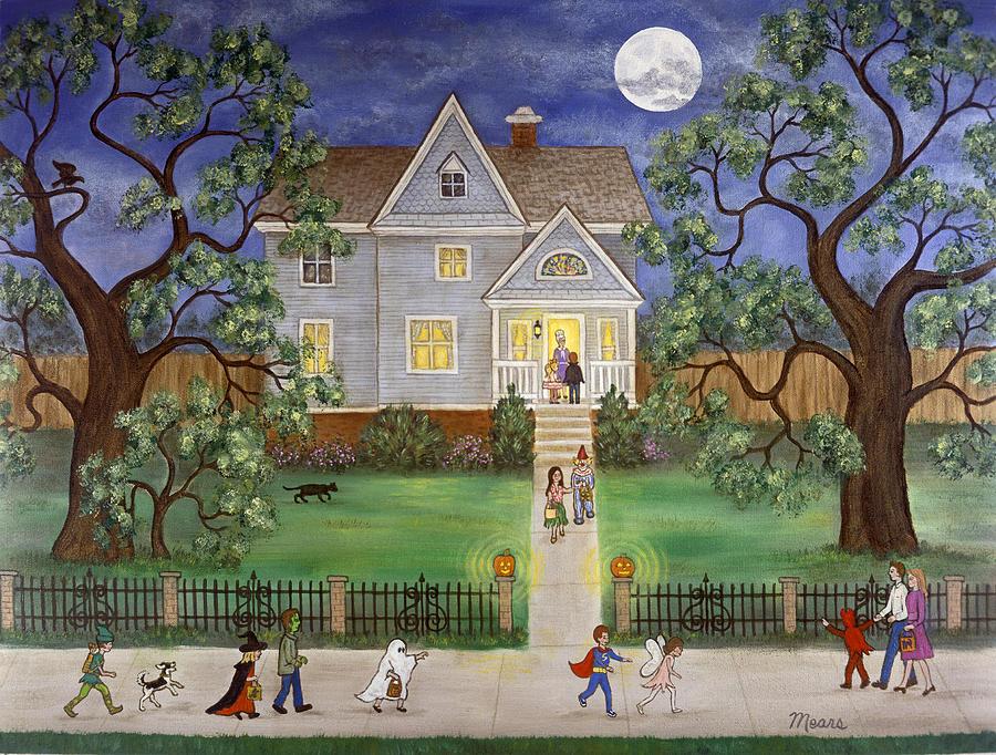 Halloween Painting By Linda Mears