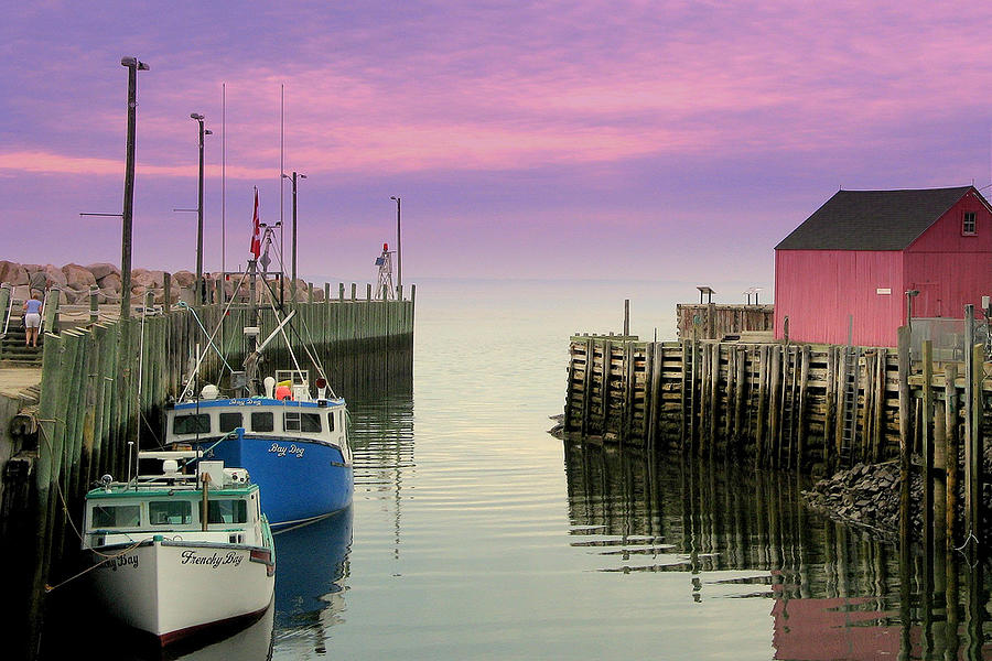 Decor Photograph - Halls Harbour Evening by Brian Chase