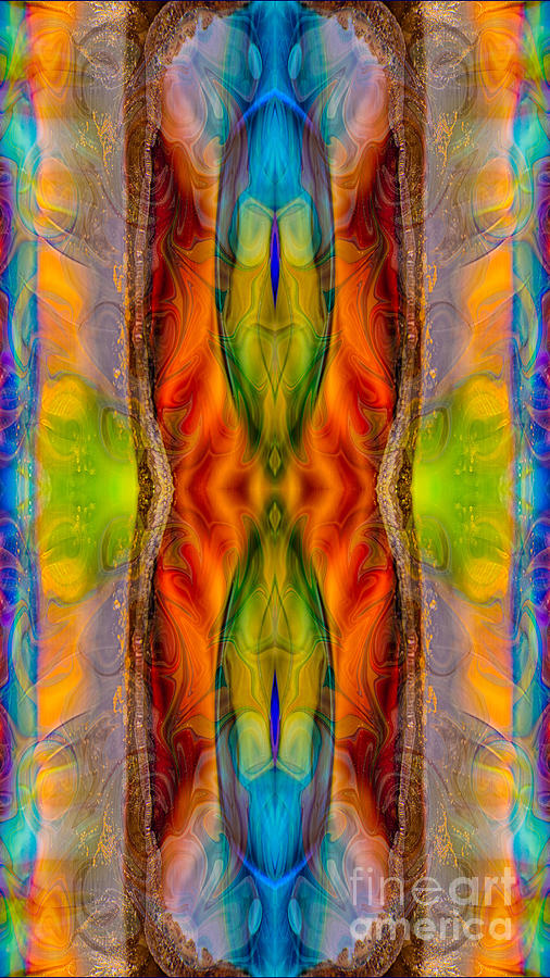 Halls Of Clarity Abstract Healing Artwork By Omaste Witkowski Digital Art