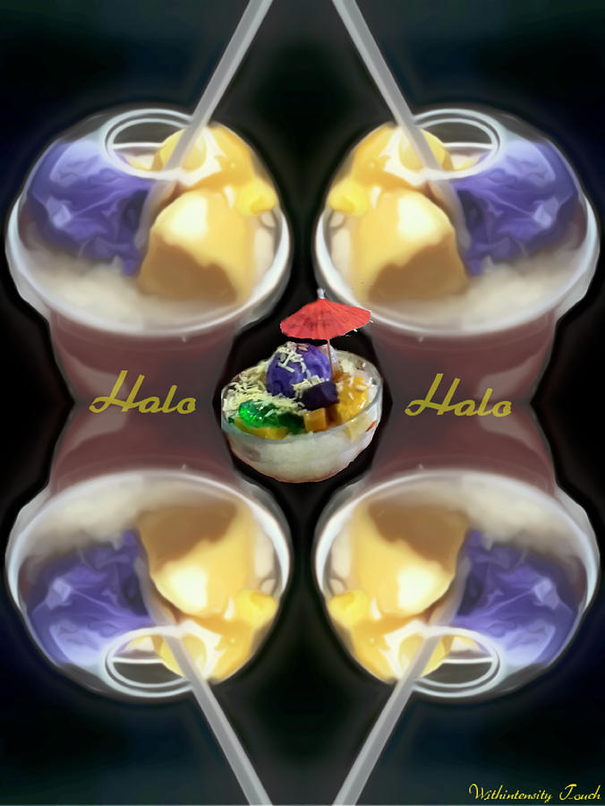Ice Cream Photograph - Halo Halo Desert by Withintensity  Touch