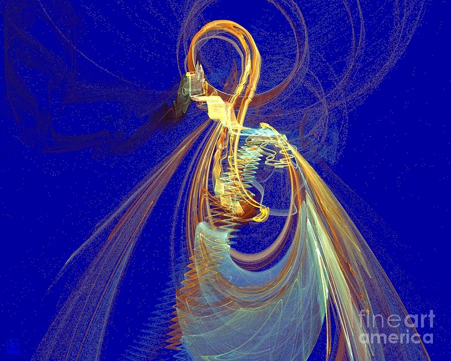 Spirit Painting - Halo Spirit by Jeanne Liander