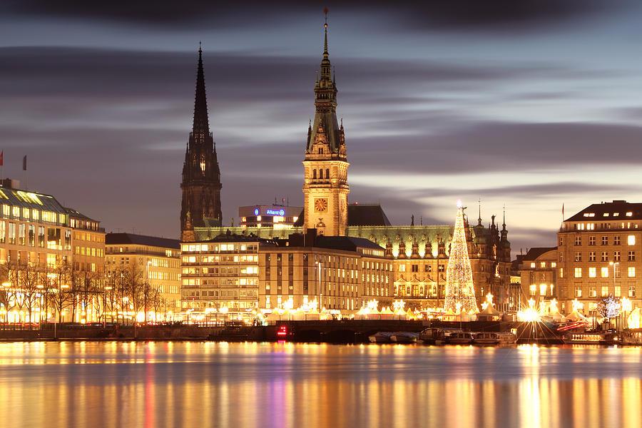 Hamburg Photograph - Hamburg Christmas by Marc Huebner