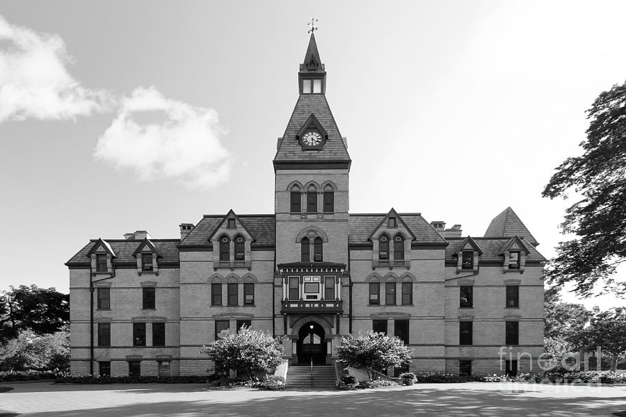 Hamline Photograph - Hamline University Old Main by University Icons