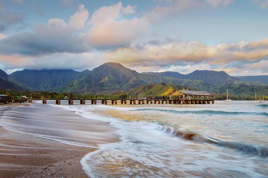 Hanalei Bay, Hanalei Photograph by M Swiet Productions
