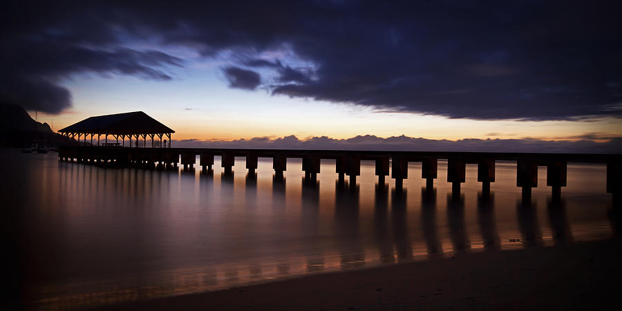 Hanalei Dusk by Michael Yeager