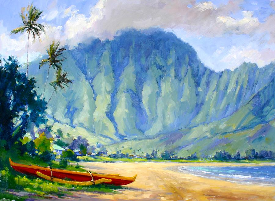 Hanalei Style Painting By Jenifer Prince