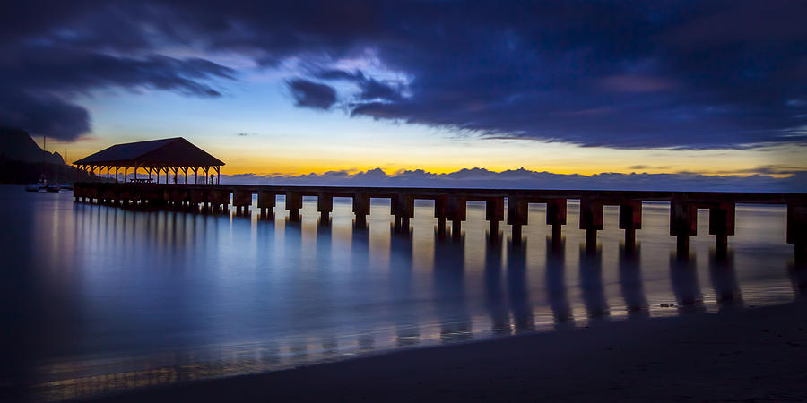 Hanalei Twilight by Michael Yeager