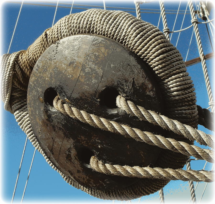 El Galleon Photograph - Hand Woven 1 by Sheri McLeroy