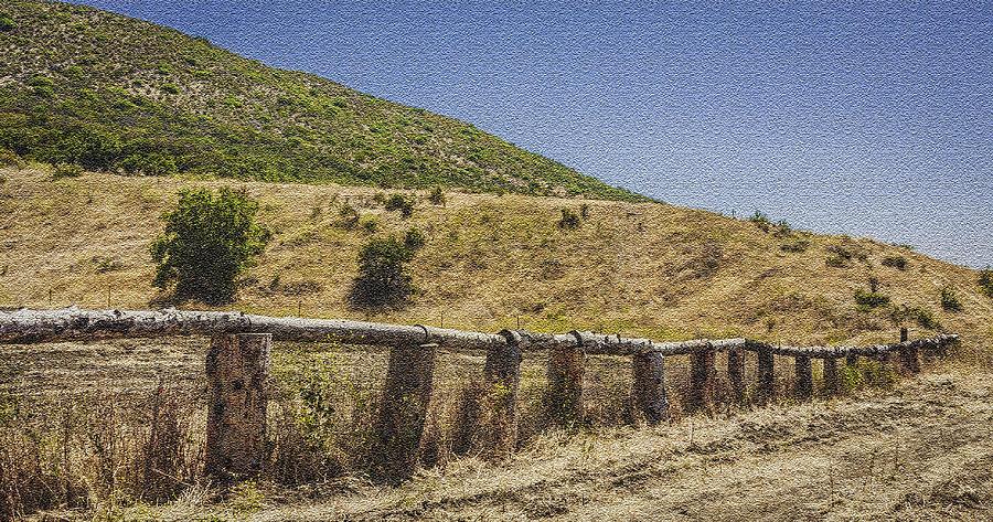 Handcut Fence by Karen Stephenson