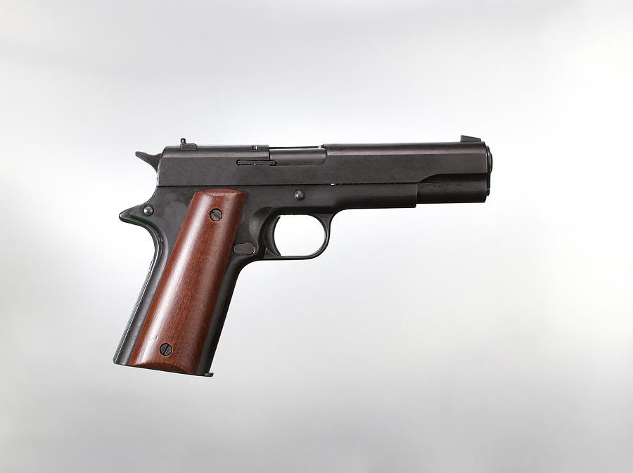 Handgun Photograph by Martin Barraud