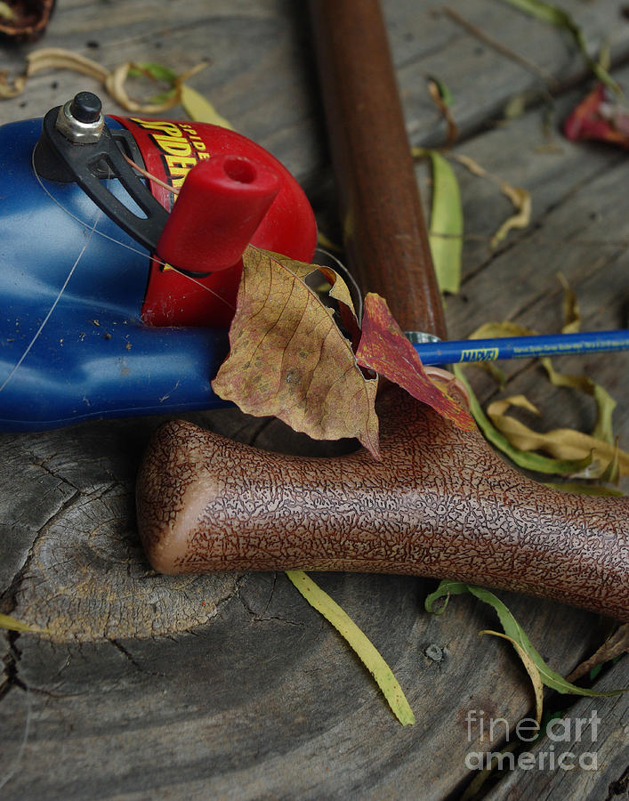 Angling Photograph - Handled With Care by Peter Piatt