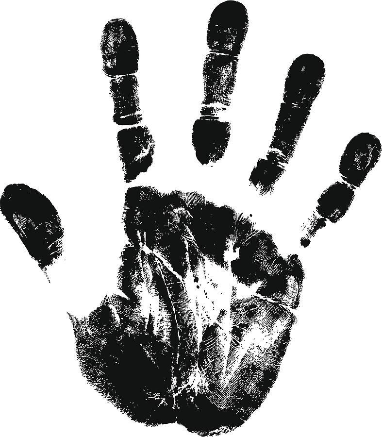 Handprint By Funnybank